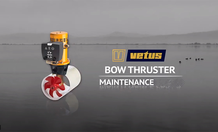 Vetus DC thruster Maintenance - Video Part 1 to 4