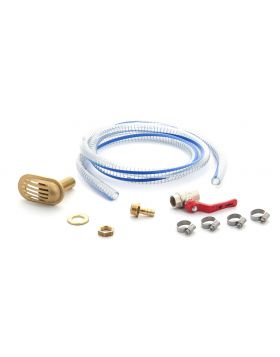 Waterstrainer connection kit for hosew Ø 19 mm