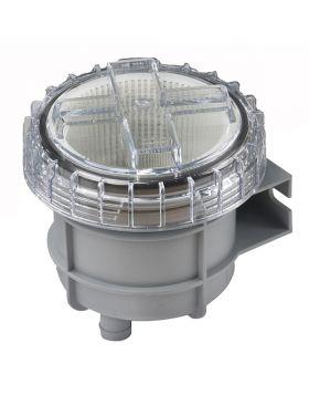 """Vetus Søvandsfilter til 32 mm slange (1¼"""") - max. kapasitet 330 liter/min."""