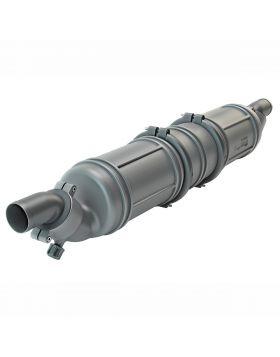 Ø90 mm - 13 liter - Vandlås/støjdæmper type NLP3 - uovertruffen lydreduktion