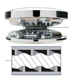 Kædehjul for 500-serien passer til 7 mm DIN766 kæde, 7 mm EN818, 1/4 G40 ISO