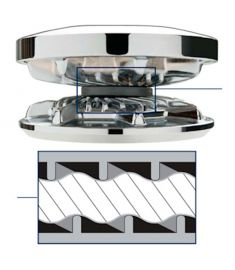 Kædehjul for 1000-1500 serien passer til 6 mm DIN766 kæde