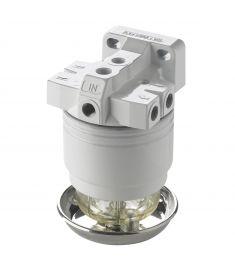 Vetus Benzin vandudskiller brændstof filter. CE / ABYC. 10 micron. komplet