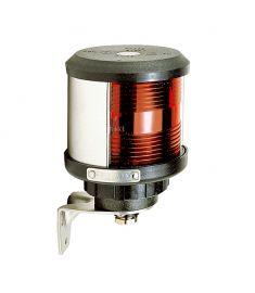 Lanterne bagbord (sidemontering) - sort (ekskl. pære)