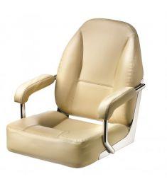 Master. Højkvalitets sæde med armlæn, creme