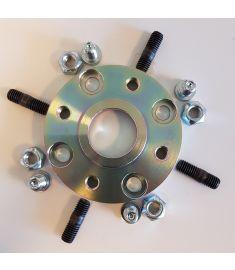 Adapter flange (1) for Yanmar KM2C; KM2P; KM3P, KM3A, Kanzaki KC30; KC45 og KC100