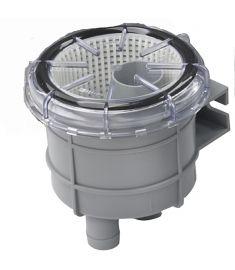 """Vetus Søvandsfilter til 16 mm slange (5/8"""") - max. kapasitet 80 liter/min."""