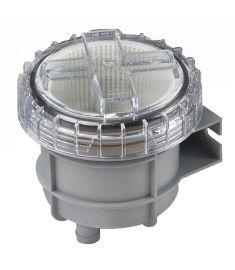 """Vetus Søvandsfilter til 25 mm slange (1"""") - max. kapasitet 210 liter/min."""