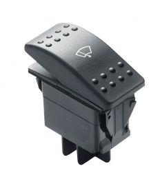 Trevejs vippe-kontakt til vinduesviskermotor (Off-1-2)