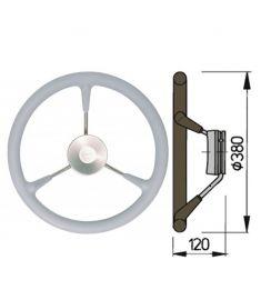 Polyuretan rat type KS - Ø38 cm - Grå