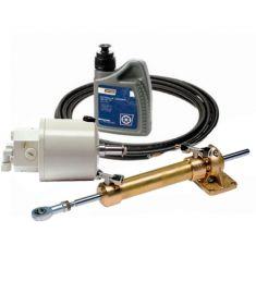 Hydraulisk styring komplet sæt - Op til 34 Fod (integreret kontraventil)