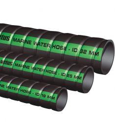Vetus kølevandsslange 25 mm (indvendig diameter) - gummislange med syntetisk inder og stålindlæg temp. -30 til 120 grader