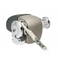 Fuldautomatisk horisontalt ankerspil - 12V - 10 mm kæde og 16 mm tov - 1200 Watt - SCW/ SD