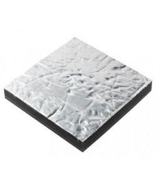 Lyd isolering Prometech enkelt 45mm, hvid (600 x 1000 mm)