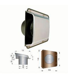 Scirocco ventil  (incl. Plast base)