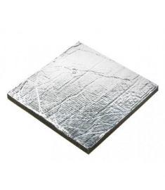 lydisolering Sonitech, 20mm, aluminium (600 x 1000 mm)