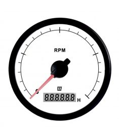 Revolution counter white 5000 RPM