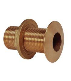 """Skrogg.føring G1 1/2"""" - bronze"""