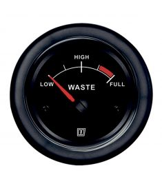 Waste level black 12/24 V